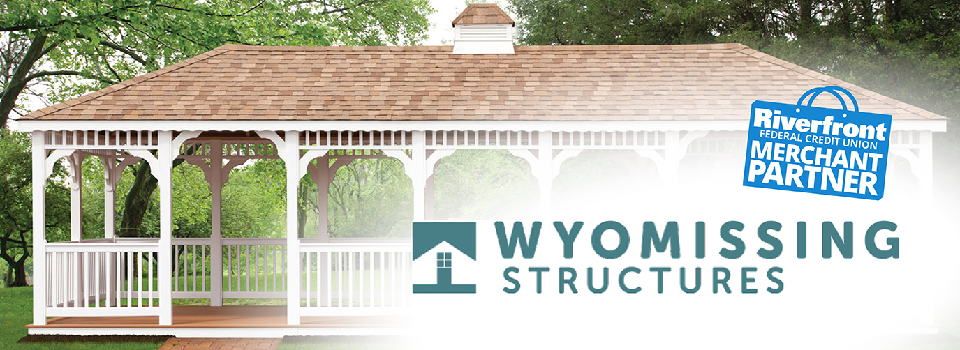 Wyomissing Structures Riverfront Federal Credit Union Merchant Partner