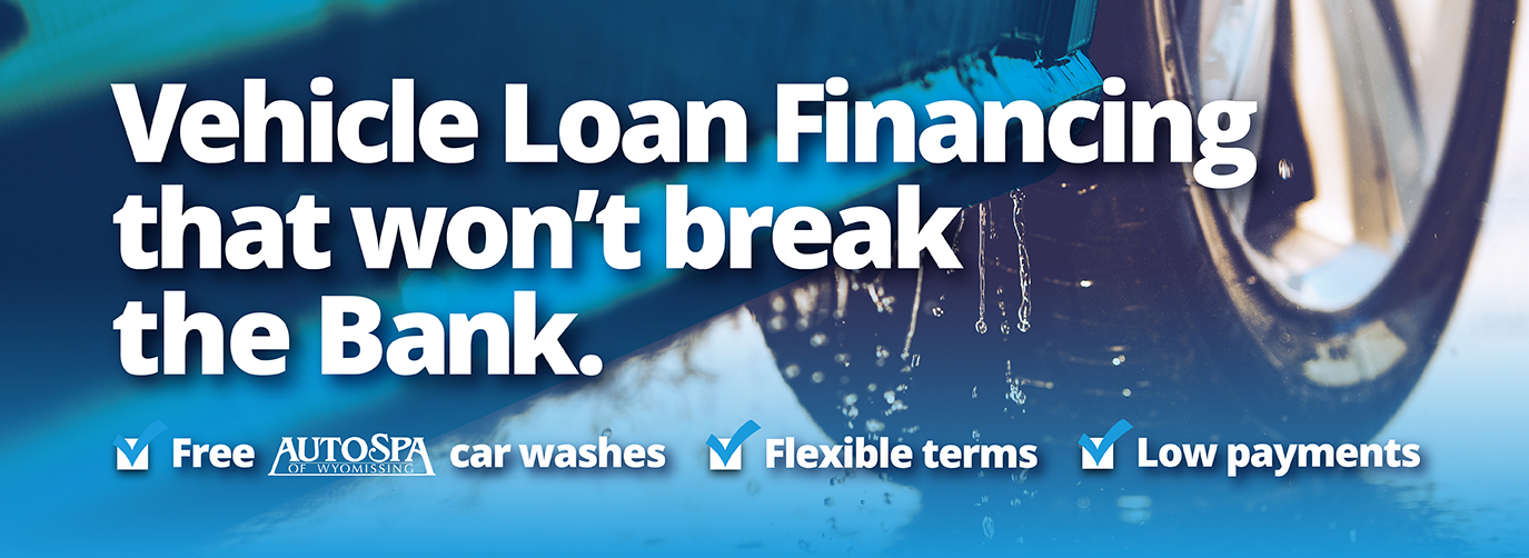 Vehicle Loan Financing that won't break the Bank. Free AutoSpa Car Washes Flexible Terms Low Payments