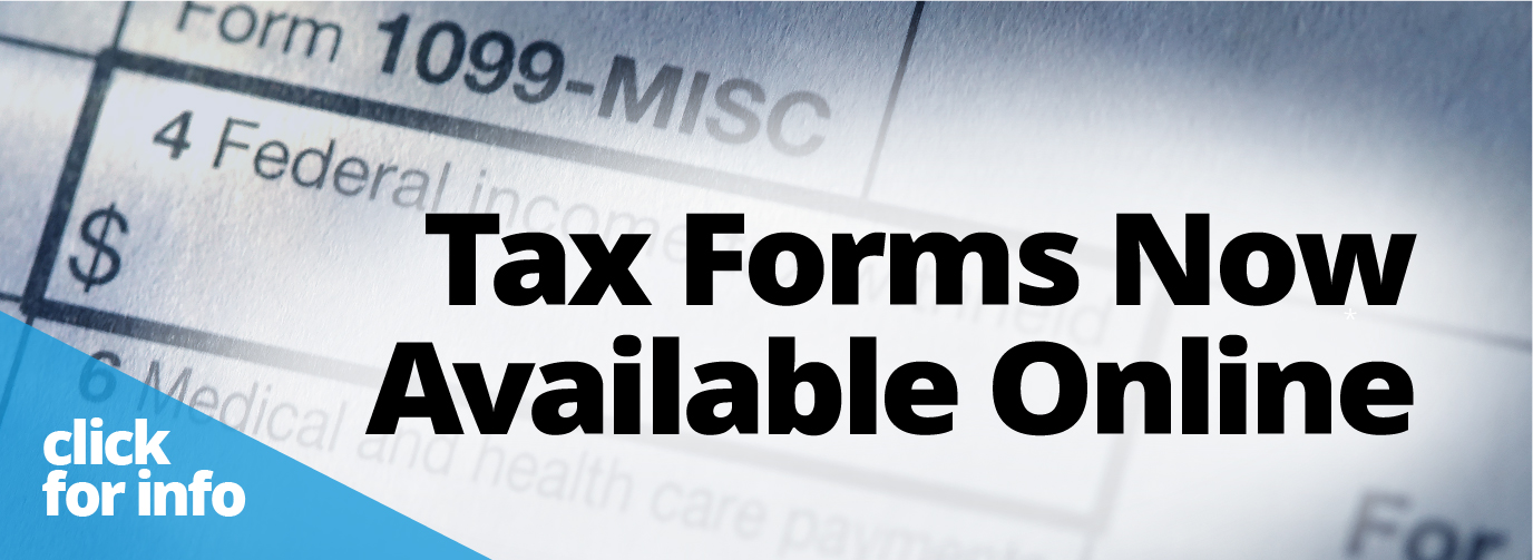 Tax Forms Now Available Online click for info